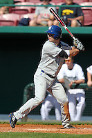 Will Walsh #1 of the Seton Hall Pirates during the Big East-Big Ten Challenge vs. the Michigan State Spartans at Al Lang Field in St. Petersburg, Florida;  February 19, 2011.  Michigan State defeated Seton Hall 5-4.  Photo By Mike Janes/Four Seam Images