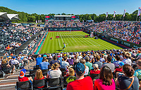 Den Bosch, Netherlands, 13 June, 2017, Tennis, Ricoh Open, Overall view of centercourt<br /> Photo: Henk Koster/tennisimages.com