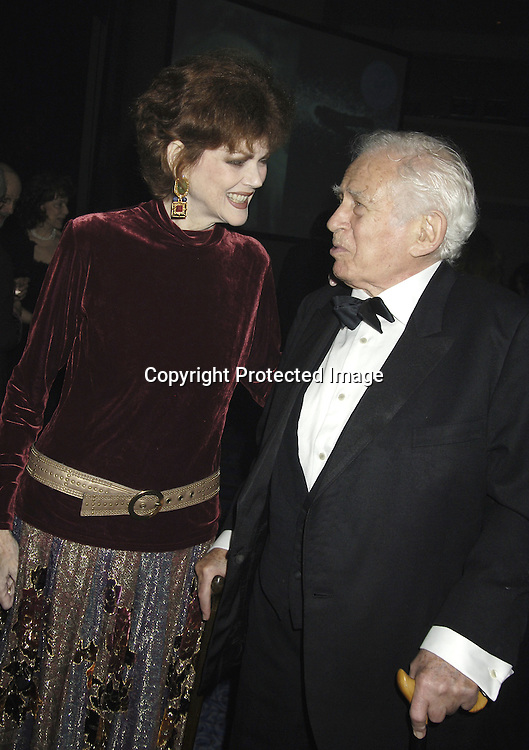 Norris and  Norman Mailer..at The 2005 National Book Awards on November 16, 2005 at The Marriott Marquis Hotel. ..Photo by Robin Platzer, Twin Images