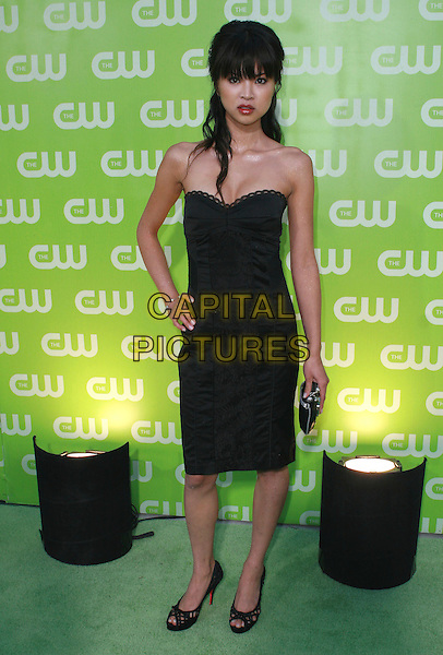 NAN ZHANG.CW All Star Summer TCA 2007 Party held at the Pacific Design Center, West Los Angeles, California, USA,.20 July 2007..full length black strapless dress.CAP/ADM/CH.©Charles Harris/AdMedia/Capital Pictures.