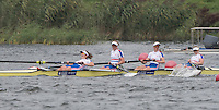 Rotterdam. Netherlands.  GBR JW4-. Bow. GBR JW4-,  India, SOMERSIDE, Bryony, LAWRENCE,  Frances RUSSELL,  and Alex  RANKIN, 2016 JWRC, U23 and Non Olympic Regatta. {WRCH2016}  at the Willem-Alexander Baan.   Sunday  28/08/2016 <br /> <br /> [Mandatory Credit; Peter SPURRIER/Intersport Images]