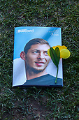 2nd February 2019, Cardiff City Stadium, Cardiff, Wales; EPL Premier League football, Cardiff City versus AFC Bournemouth; Todays match programme featuring a memorial of Emiliano Sala