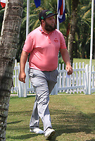 Andrew Johnston (ENG) on the putting green after Round 1 of the Maybank Championship at the Saujana Golf and Country Club in Kuala Lumpur on Thursday 1st February 2018.<br /> Picture:  Thos Caffrey / www.golffile.ie<br /> <br /> All photo usage must carry mandatory copyright credit (© Golffile | Thos Caffrey)