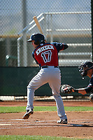 Tyler Krieger - Cleveland Indians 2016 spring training (Bill Mitchell)