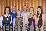 Patricia Lawlor, PJ Lawlor, Noreen, Joe, Niamh and Ciara O'Shea enjoying the Dr Crokes awards night in the Malton on Friday night.
