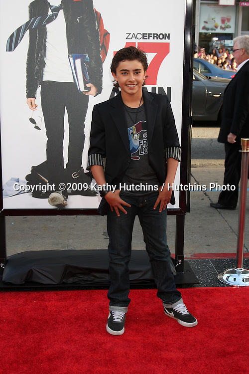Jansen Panettiere  arriving at the 17 Again Premiere at Grauman's Chinese Theater in Los Angeles, CA on April 14, 2009.©2009 Kathy Hutchins / Hutchins Photo....                .