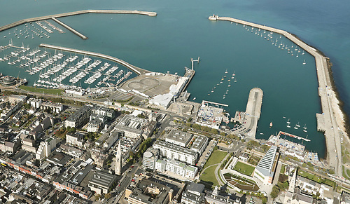 Viking Marine's Dun Laoghaire shop is exactly at the centre of this photo