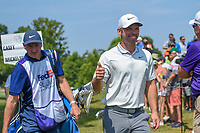 Paul Casey (GBR) gives a thumbs up as he heads for the tee on 10 during round 3 of the WGC FedEx St. Jude Invitational, TPC Southwind, Memphis, Tennessee, USA. 7/27/2019.<br /> Picture Ken Murray / Golffile.ie<br /> <br /> All photo usage must carry mandatory copyright credit (© Golffile | Ken Murray)