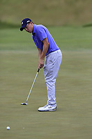 Matt Fitzpatrick (ENG) birdie putt on the 11th green during Saturday's Round 3 of the 117th U.S. Open Championship 2017 held at Erin Hills, Erin, Wisconsin, USA. 17th June 2017.<br /> Picture: Eoin Clarke | Golffile<br /> <br /> <br /> All photos usage must carry mandatory copyright credit (&copy; Golffile | Eoin Clarke)