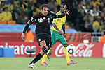11 JUN 2010: Cuauhtemoc Blanco (MEX). The South Africa National Team tied the Mexico National Team 1-1 at Soccer City Stadium in Johannesburg, South Africa in the opening match of the 2010 FIFA World Cup.