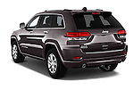 Car pictures of rear three quarter view of 2016 JEEP Grand-Cherokee Overland 5 Door Suv Angular Rear