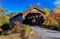 The Cambridge Junction Covered Bridge.