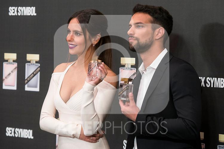 Tv host Cristina Pedroche and actor Jesus Castro attends to presentation their new fragrance 'Sex Symbol' in Madrid, Spain. October 26, 2017. (ALTERPHOTOS/Borja B.Hojas)