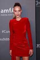 NEW YORK, NY - FEBRUARY 6: Chase Carter arriving at the 21st annual amfAR Gala New York benefit for AIDS research during New York Fashion Week at Cipriani Wall Street in New York City on February 6, 2019. <br /> CAP/MPI99<br /> &copy;MPI99/Capital Pictures