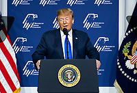 APR 06 President Donald J. Trump at The Republican Jewish Coalition Annual Leadership Meeting