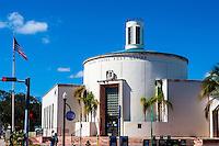US, Florida, Miami Beach. Miami Beach Post Office.