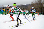 11 MAR 2011: Reid Pletcher (15) of the University of Colorado during the men's 20km Classical Cross Country race during the 2011 NCAA Men and Women's Division I Skiing Championship held Stowe Mountain Resort and Trapp Family Lodge in Stowe, VT. Pletcher placed first to win the national title. ©Brett Wilhelm/NCAA Photos
