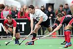 Canterbury Men's Hockey final match between <br /> Harewood and Carlton Redcliffs at Marist Park, Christchurch, New Zealand. Saturday 26 August 2017. Martin Hunter / www.bwmedia.co.nz