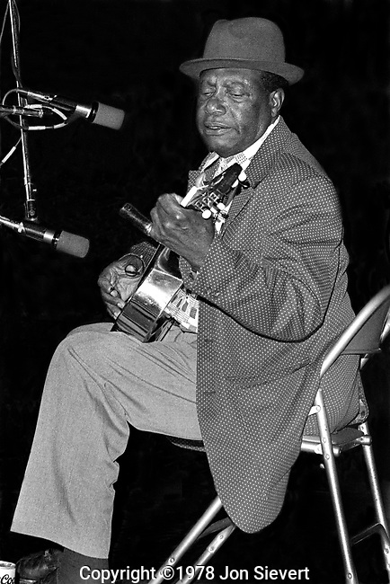Bukka White, Berkeley Blues Festival,Jan. 17, 1975