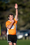 Glen Jackson ex professional rugby and now referee.  Counties Manukau Steelers pre season ITM Cup game against a Bay of Plenty Wasps selection, played at Moore Park Katikati, on July 7th 2010.
