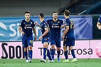 Miguel Veloso of Verona celebrates after scoring <br /> Verona 25/08/2019 Stadio Bentegodi <br /> Football Serie A 2019/2020 <br /> Hellas Verona - Bologna FC  <br /> Photo Daniele Buffa / Image Sport / Insidefoto