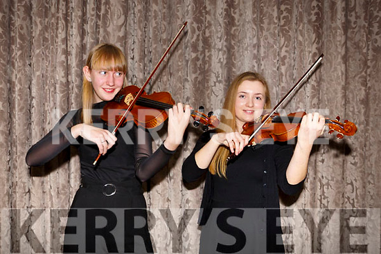 At the Kerry School of Music Concert in the rose Hotel on Sunday were Eda Holm and clodagh Gayner