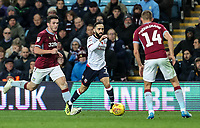 Bolton Wanderers' Erhun Oztumer competing with Aston Villa's Conor Hourihane<br /> <br /> Photographer Andrew Kearns/CameraSport<br /> <br /> The EFL Sky Bet Championship - Aston Villa v Bolton Wanderers - Friday 2nd November 2018 - Villa Park - Birmingham<br /> <br /> World Copyright &copy; 2018 CameraSport. All rights reserved. 43 Linden Ave. Countesthorpe. Leicester. England. LE8 5PG - Tel: +44 (0) 116 277 4147 - admin@camerasport.com - www.camerasport.com