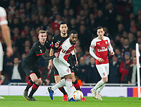 Arsenal's Alexandre Lacazette during the UEFA Europa League match between Arsenal and Rennes at the Emirates Stadium, London, England on 14 March 2019. Photo by Andrew Aleksiejczuk / PRiME Media Images.