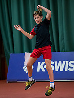 Wateringen, The Netherlands, December 1,  2019, De Rhijenhof , NOJK 12 and16 years, Mees Röttgering (NED) <br /> Photo: www.tennisimages.com/Henk Koster