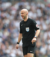 Referee Anthony Taylor<br /> <br /> Photographer Rob Newell/CameraSport<br /> <br /> Emirates FA Cup - Emirates FA Cup Semi Final - Manchester United v Tottenham Hotspur - Saturday 21st April 2018 - Wembley Stadium - London<br />  <br /> World Copyright &copy; 2018 CameraSport. All rights reserved. 43 Linden Ave. Countesthorpe. Leicester. England. LE8 5PG - Tel: +44 (0) 116 277 4147 - admin@camerasport.com - www.camerasport.com