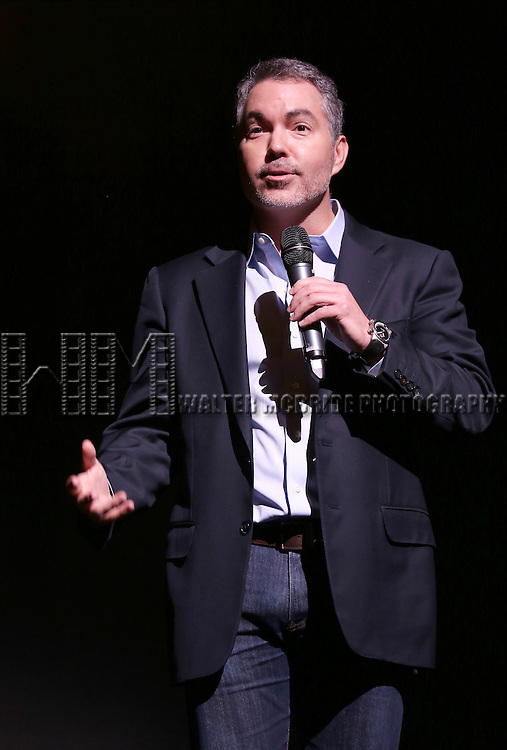Producer Darren Bagert during the 'Side Show' Press Preview at the St James Theater on October 17, 2014 in New York City.