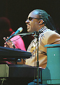 Stevie Wonder performs at the National Tribute to United States President Clinton at the MCI Center in Washington, DC on May 24, 2000..Credit: Ron Sachs / CNP
