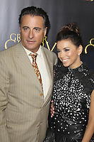 Andy Garcia and Eva Longoria at the film premiere of 'For Greater Glory' at AMPAS Samuel Goldwyn Theater on May 31, 2012 in Beverly Hills, California. ©mpi26/ MediaPunch Inc.