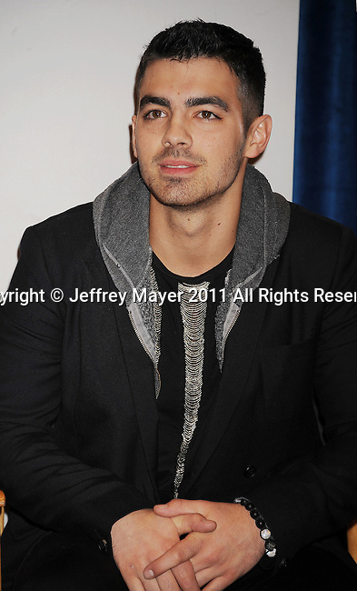 BEVERLY HILLS, CA - NOVEMBER 08: Joe Jonas attends the People's Choice Awards 2012 Nominees Announcement at The Paley Center for Media on November 8, 2011 in Beverly Hills, California.
