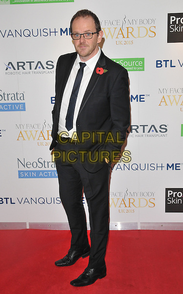 Liam Fox attends the My Face My Body Awards 2015, InterContinental Hotel, Park Lane, London, England, UK, on Saturday 07 November 2015. <br /> CAP/CAN<br /> &copy;Can Nguyen/Capital Pictures