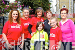 Elaine Doyle, Deirdre Nolan, Mary Cronin, Marie Carroll-O'Sullivan, Alanah Loughnane, Imelda Fleming and Mary Griffin at the Michelle O'Connor memorial walk in aid of Cystic Fibrosis