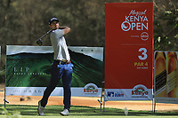 Filippo Bergamischi (ITA) during the third round of the Magical Kenya Open presented by ABSA, played at Karen Country Club, Nairobi, Kenya. 16/03/2019<br /> Picture: Golffile | Phil Inglis<br /> <br /> <br /> All photo usage must carry mandatory copyright credit (&copy; Golffile | Phil Inglis)