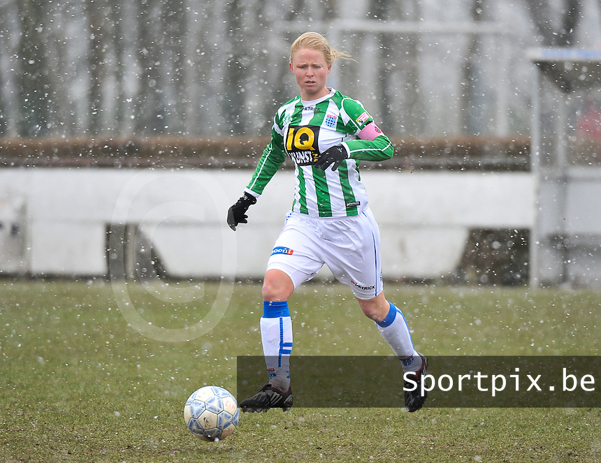 Club Brugge Dames - PEC Zwolle : Mariska Kogelman .foto DAVID CATRY / Vrouwenteam.be
