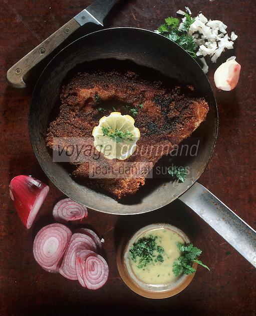 Europe/France/Rhône-Alpes/69/Rhone/Lyon: Cuisine des Bouchons- Gastronomie Lyonnaise - Tablier de Sapeur