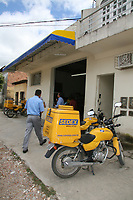 EUNÁPOLIS, BA, 01.04.2008 - CORREIOS - imagem de arquivo de Agencia dos Correios na cidade de Eunápolis (Sul da Bahia). (Foto: Joá Souza / Brazil Photo Press).