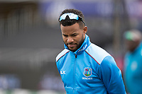 Shai Hope (West Indies) during West Indies vs New Zealand, ICC World Cup Warm-Up Match Cricket at the Bristol County Ground on 28th May 2019