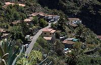 Mountain village, Masca, Tenerife, Canary Islands. April 2007