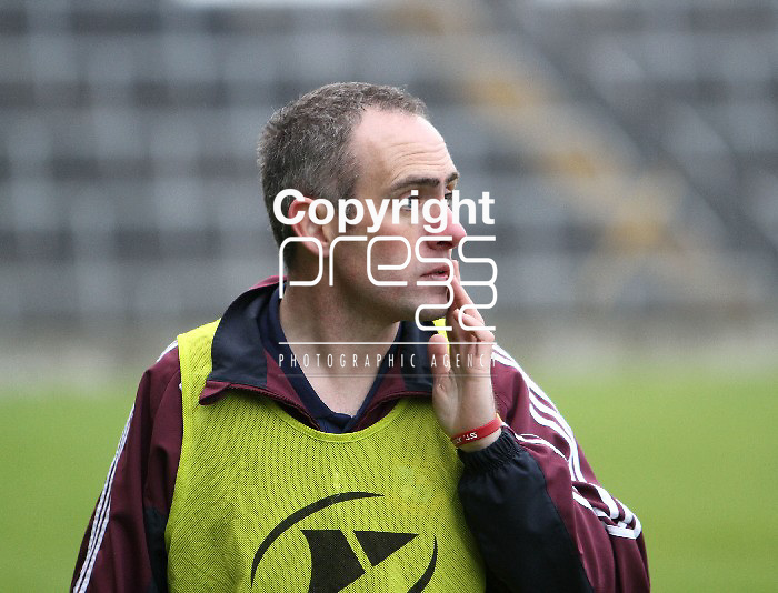 23/11/13 St Joseph's Manager, David O Brien in The Gaelic Grounds for the Munster Intermediate Final on Saturday. Pic Tony Grehan / Press 22