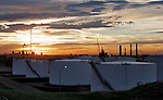 Shell Canada Product's Sherwood Terminal fuel storage facility near Edmonton, on Saturday September 3, 2005. John Ulan