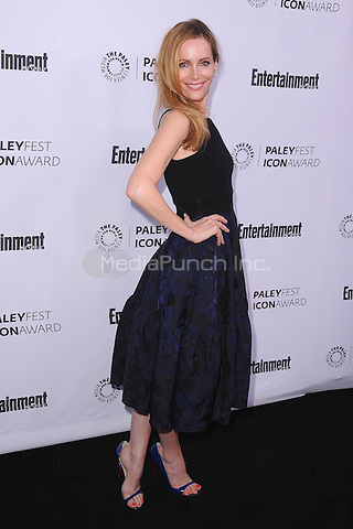 BEVERLY HILLS, CA - MARCH 10:   Leslie Mann arrives at the 2014 PaleyFest Icon Award to Judd Apatow at the Paley Center for the Media on March 10, 2014 in Beverly Hills, California. MPI213/MediaPunch