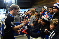 San Jose, CA - Saturday, March 04, 2017: Florian Jungwirth after a Major League Soccer (MLS) match between the San Jose Earthquakes and the Montreal Impact at Avaya Stadium.