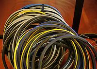 16-11-07, Netherlands, Amsterdam, Wheelchairtennis Masters 2007, Spare tires