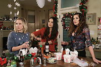 A Bad Moms Christmas (2017) <br /> Kristen Bell, Mila Kunis &amp; Kathryn Hahn<br /> *Filmstill - Editorial Use Only*<br /> CAP/KFS<br /> Image supplied by Capital Pictures