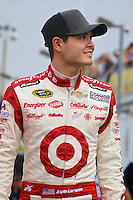 Kyle Larson at NASCAR Sprint Cup Pre-Season Thunder testing, January 2014.  (Photo by Brian Cleary/ www.bcpix.com )