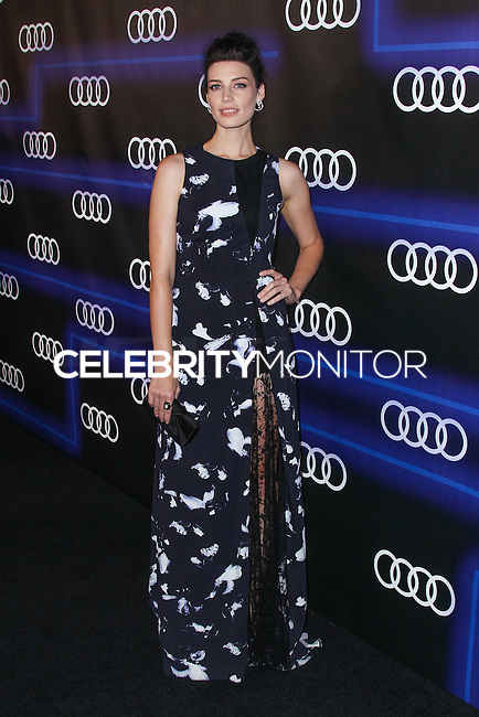 WEST HOLLYWOOD, CA, USA - AUGUST 21: Jessica Pare arrives at the Audi Emmy Week Celebration held at Cecconi's Restaurant on August 21, 2014 in West Hollywood, California, United States. (Photo by Xavier Collin/Celebrity Monitor)